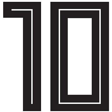 soccer - number 10 by storebycaste