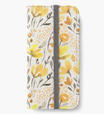 Yellow field iPhone Wallet/Case/Skin