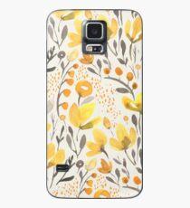 Funda/vinilo para Samsung Galaxy Campo amarillo