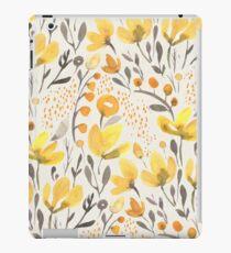 Yellow field iPad Case/Skin