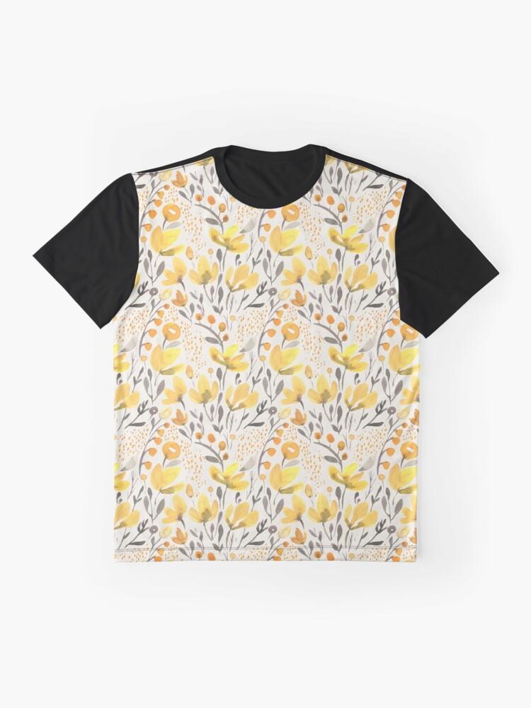 Alternate view of Yellow field Graphic T-Shirt