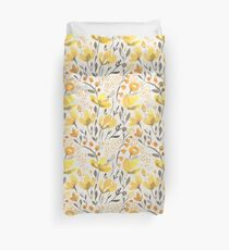 Yellow field Duvet Cover