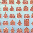 Gingerbread house pattern by HypathieAswang