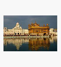 Amritsar's Golden Temple Photographic Print