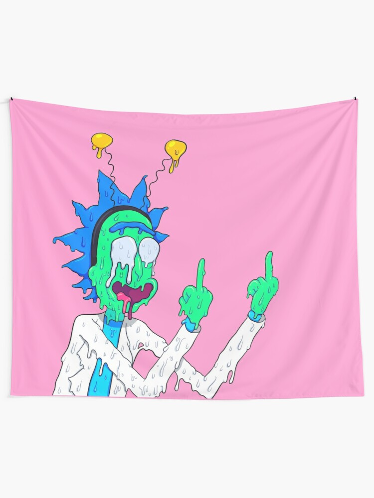 Alternate view of Rick Sanchez Wall Tapestry