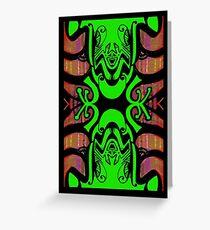 Treefrog Totem Greeting Card