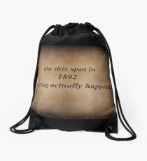 Nothing Drawstring Bag