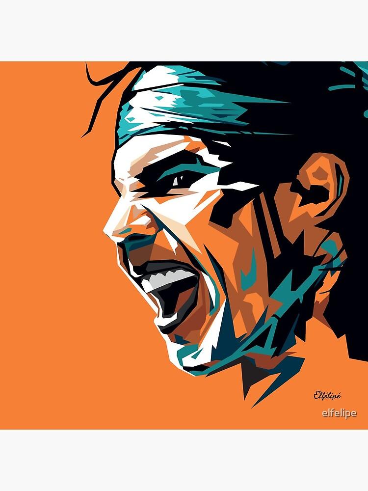 Rafael Nadal tennis by elfelipe