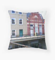 Downtown Morristown Throw Pillow
