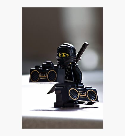 The Black Ninja Photographic Print