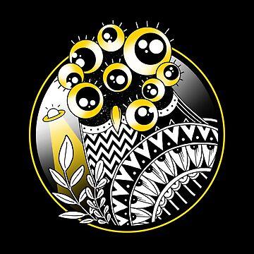 Extraterrestrial Owl by GODZILLARGE