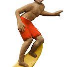 Haleiwa Sign Surfer MAN by northshoresign
