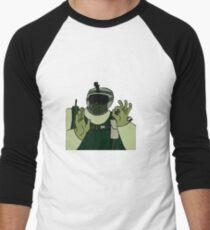 Fuze: okhand: Men's Baseball ¾ T-Shirt