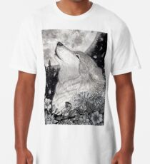 Lobo lunar Long T-Shirt