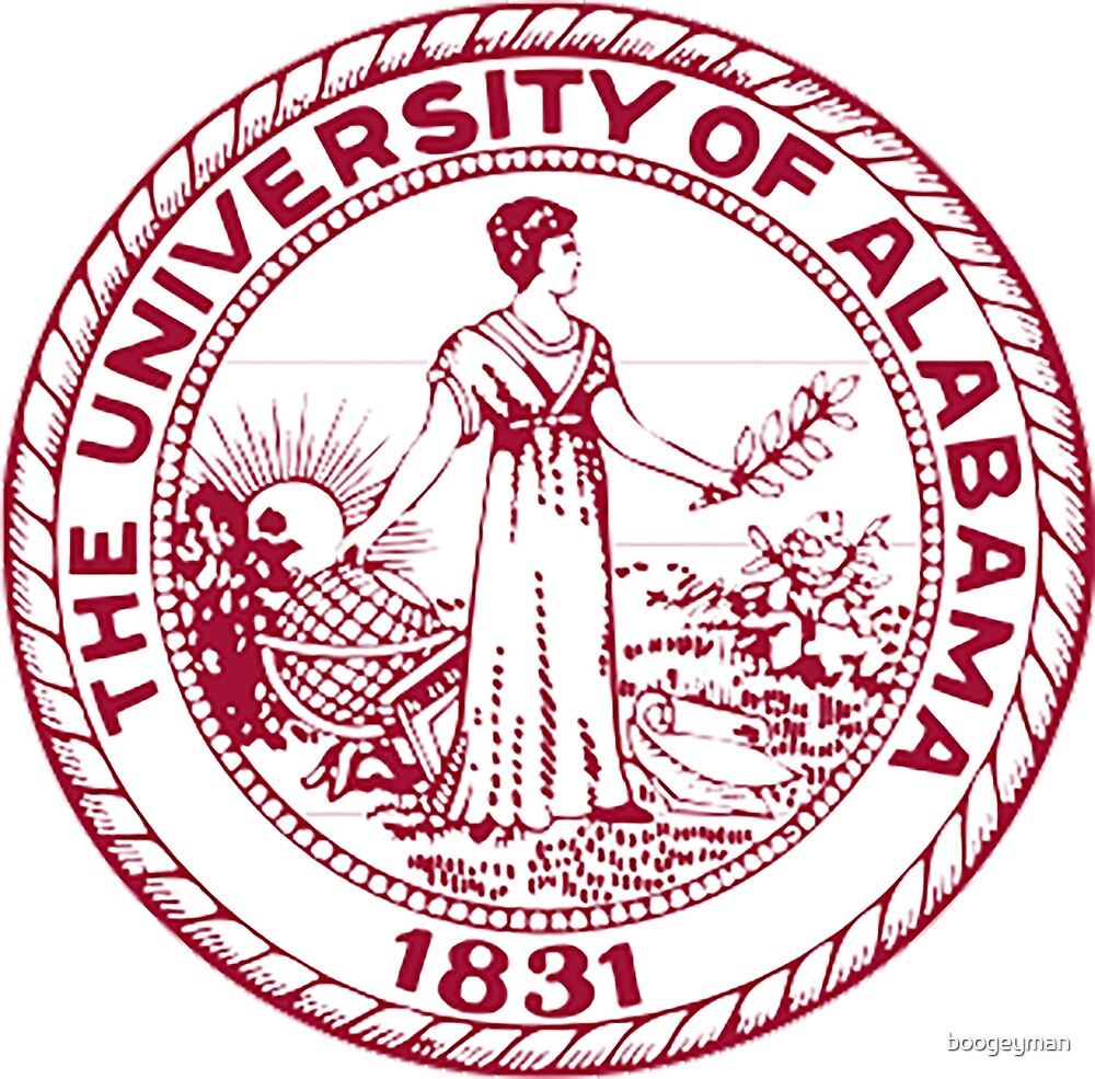 Quot The University Of Alabama Seal Quot By Boogeyman Redbubble