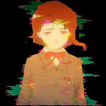 Glitched Lain by radesigns2