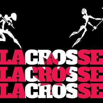 Lacrosse Canada Canadian Lacrosse by SportsT-Shirts