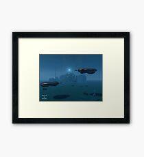 Water World Framed Print