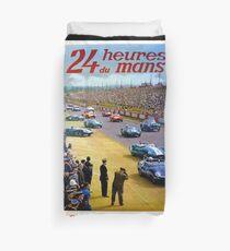 24h Le Mans 1960 posters Duvet Cover