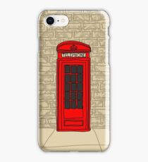 telephone booth iphone case iPhone Case/Skin