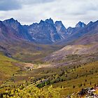 Tombstone Mountains fall colors by ImagoBorealis