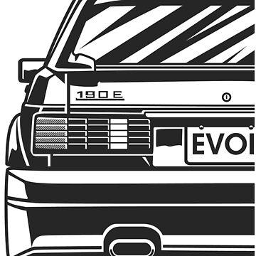 Merc 190E Evo II by OlegMarkaryan