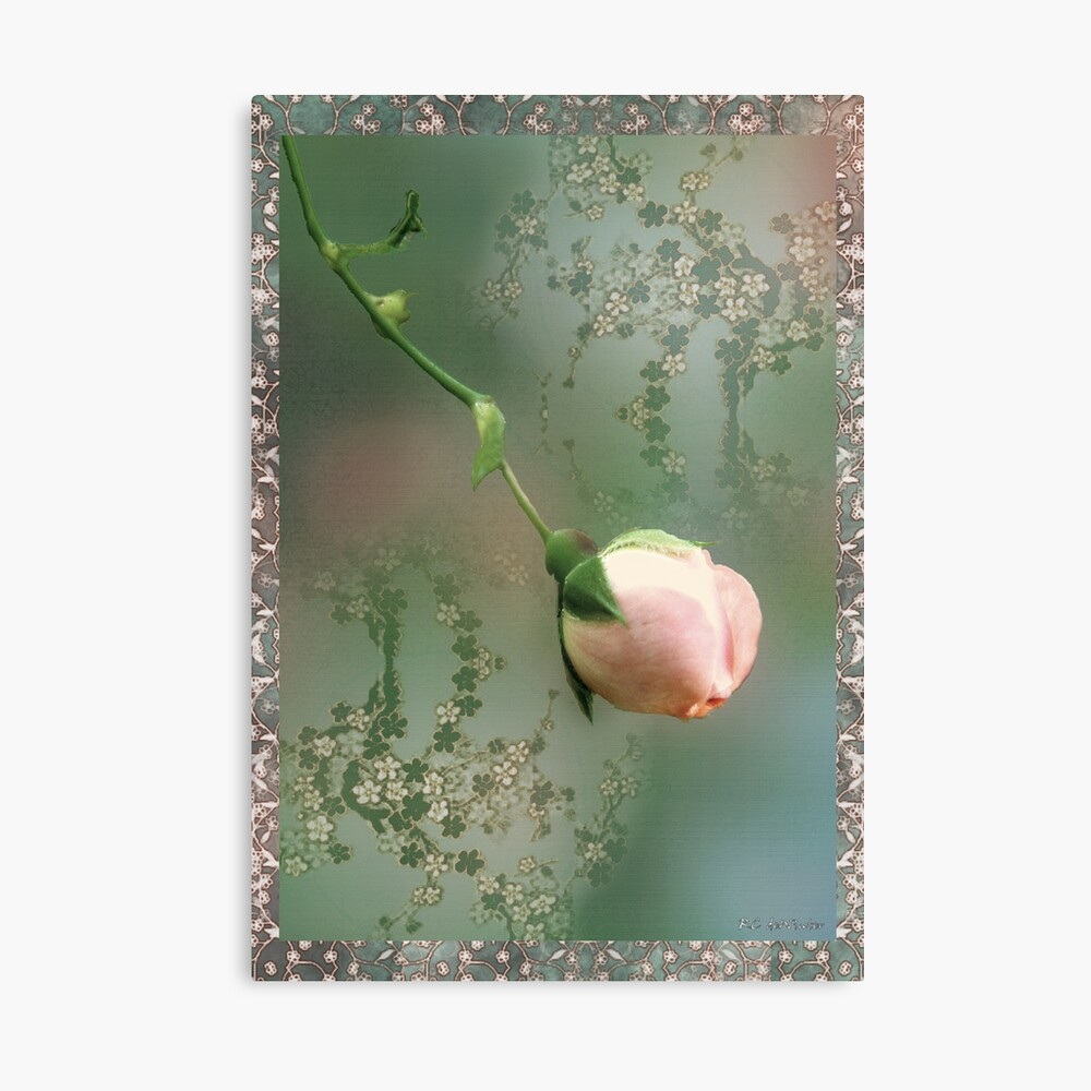 Penny Postcard Chinoiserie Canvas Print