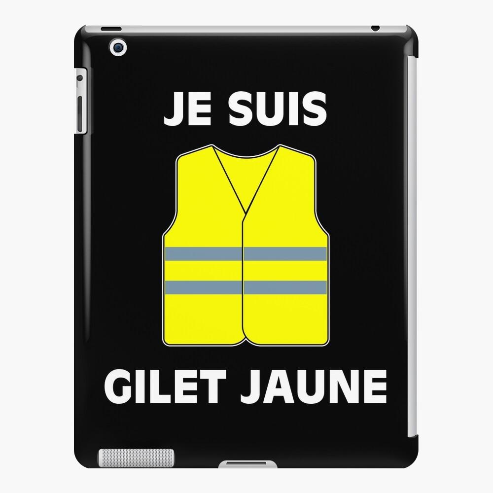 Muestra tu apoyo a los chalecos amarillos. $ 2 por artículo serán donados a las víctimas de las protestas. Funda y vinilo para iPad