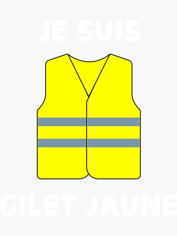 Muestra tu apoyo a los chalecos amarillos. $ 2 por artículo serán donados a las víctimas de las protestas. de krz79