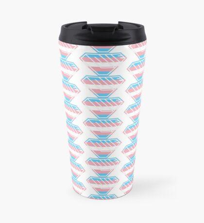 Love SuperEmpowered (Blue, Pink & White) Travel Mug