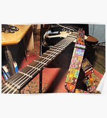 Fiver's guitar Poster