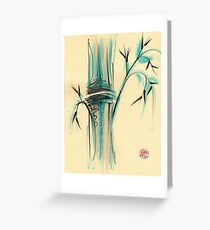Peaceful Bamboo Greeting Card