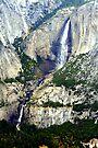 """Upper and Lower Yosemite Falls"" by Lynn Bawden"