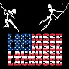 Lacrosse American Lacrosse United States by SportsT-Shirts