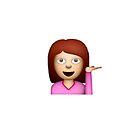 girl emoji by lazyville