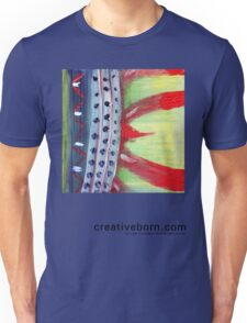 Flame Abstract  Unisex T-Shirt