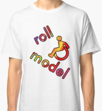 Roll Model - Disability Tees - in bright colours Classic T-Shirt