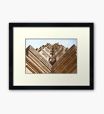 Aspect of Palma cathedral. Framed Print