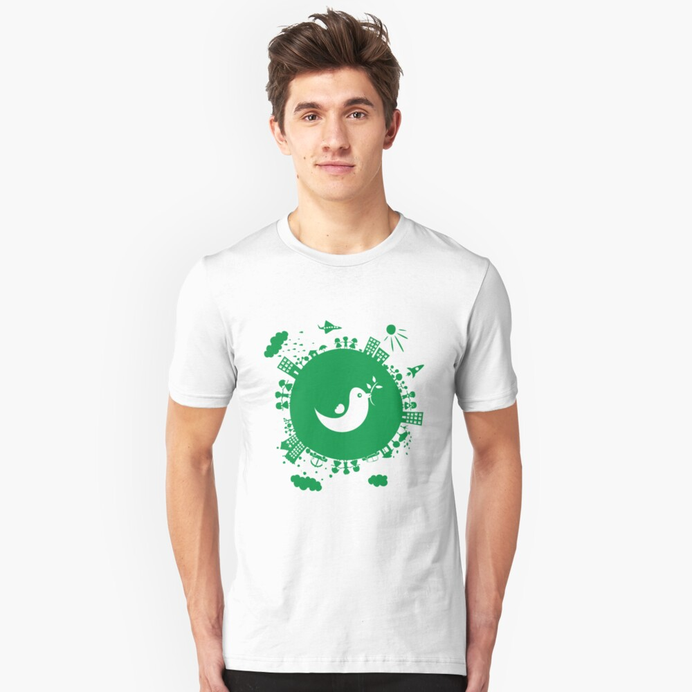 dove of peace Slim Fit T-Shirt