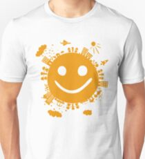 smiling planet T-Shirt