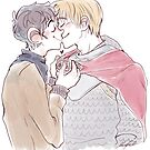 Merthur kiss by maryluis