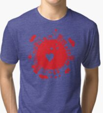 planet in love Tri-blend T-Shirt