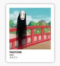 PANTONE No-face Sticker