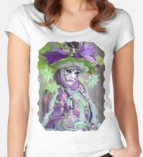 This mask is really beautiful Women's Fitted Scoop T-Shirt