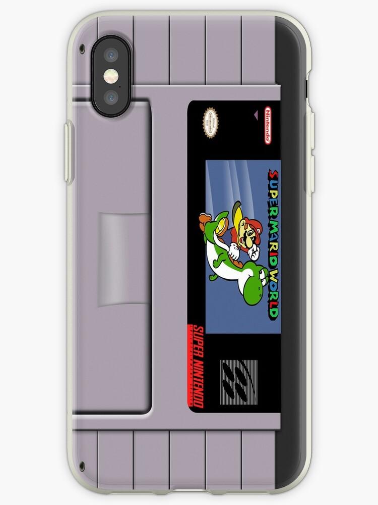 «Estuche de Super Mario World Cartridge para Iphone» de LumpyHippo
