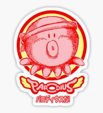 Parodius Da! Sticker