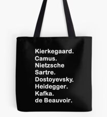 Existentialist 2 Tote Bag