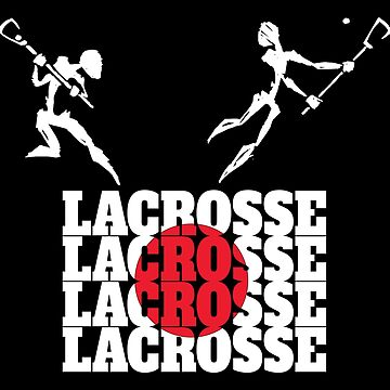 Lacrosse Japan Japanese Lacrosse by SportsT-Shirts
