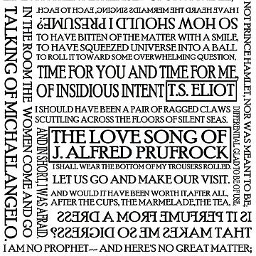 The Love Song of J. Alfred Prufrock by silentstead