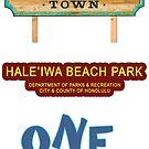 Haleiwa Life Sticker Pack by northshoresign